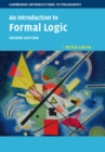 Image for An introduction to formal logic
