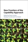 Image for New frontiers of the capability approach