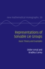 Image for Representations of solvable Lie groups  : basic theory and examples