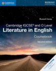 Image for Cambridge IGCSE O Level literature in English: Coursebook