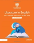 Image for Cambridge International AS & A level literature in English coursebook
