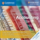 Image for Cambridge IGCSE (R) and O Level Accounting Cambridge Elevate Teacher's Resource Access Card