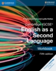 Image for Cambridge IGCSE English as a second language: Workbook