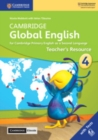 Image for Cambridge global English  : for Cambridge primary English as a second languageStage 4,: Teacher's resource with Cambridge elevate
