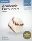 Image for Academic encounters  : listening and speakingLevel 2,: American studies