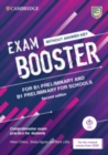 Image for Exam booster for preliminary and preliminary for schools without answer key with audio for the revised 2020 exams  : comprehensive exam practice test for students