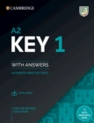 Image for A2 key 1 for the revised 2020 exam  : authentic practice testsStudent's book with answers : A2 Key 1 for the Revised 2020 Exam Student's Book with Answers with Audio: Authentic Practice Tests