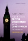Image for Turpin and Tomkins' British government and the constitution  : text and materials
