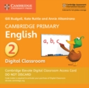 Image for Cambridge Primary English Stage 2 Cambridge Elevate Digital Classroom Access Card (1 Year)