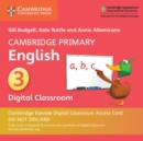 Image for Cambridge Primary English Stage 3 Cambridge Elevate Digital Classroom Access Card (1 Year)