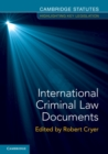 Image for International criminal law documents