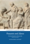 Image for Peasants and slaves  : the rural population of Roman Italy (200 BC to AD 100)