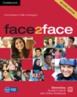 Image for face2faceElementary,: Student's book with online workbook