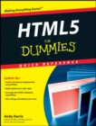 Image for HTML 5 for dummies quick reference