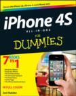 Image for iPhone 4S all-in-one for dummies