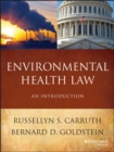 Image for Environmental health law  : an introduction