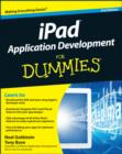 Image for iPad application development for dummies