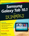 Image for Samsung Galaxy Tab 10.1 for dummies