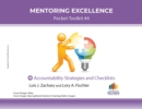 Image for Accountability Strategies and Checklists : Mentoring Excellence Toolkit #4