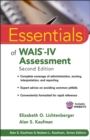 Image for Essentials of WAIS-IV assessment