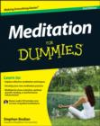 Image for Meditation for dummies
