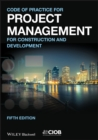 Image for Code of practice for project management for construction and development