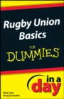 Image for Rugby Union Basics In A Day For Dummies