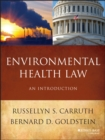 Image for Environmental health law: an introduction
