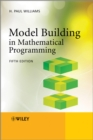 Image for Model building in mathematical programming