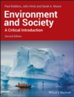 Image for Environment and society  : a critical introduction