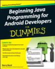 Image for Java programming for Android developers for dummies