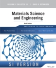 Image for Materials science and engineering.