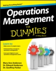 Image for Operations management for dummies