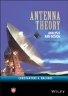 Image for Antenna theory  : analysis and design