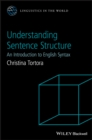 Image for Understanding sentence structure: an introduction to English syntax : 12