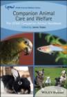 Image for Companion animal care and welfare  : the UFAW companion animal handbook