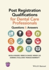 Image for Post registration qualifications for dental care professionals  : questions and answers