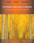 Image for Systems analysis & design  : an object-oriented approach with UML