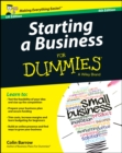 Image for Starting a business for dummies