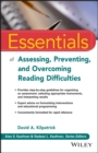 Image for Essentials of assessing, preventing, and overcoming reading difficulties