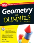 Image for 1,001 geometry practice problems for dummies