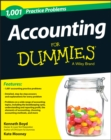 Image for Accounting  : 1,001 practice problems for dummies