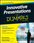 Image for Innovative presentations for dummies