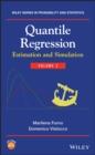 Image for Quantile regression.: (Estimation and simulation) : Volume 2,