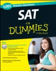 Image for 1,001 SAT Practice Questions For Dummies (+ Free Online Practice)
