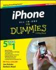 Image for iPhone all-in-one for dummies