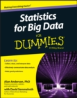 Image for Statistics for big data for dummies