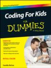 Image for Coding for kids for dummies