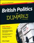 Image for British politics for dummies