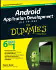 Image for Android application development all-in-one for dummies